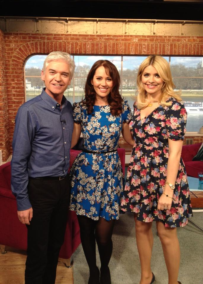 Hayley Sparkes on ITV This Morning